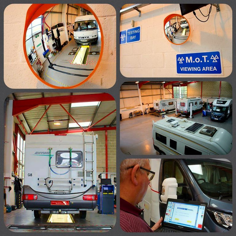Motorhome servicing and repairs Dorset