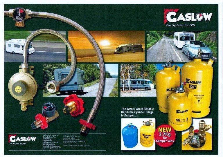 Gaslow supplies