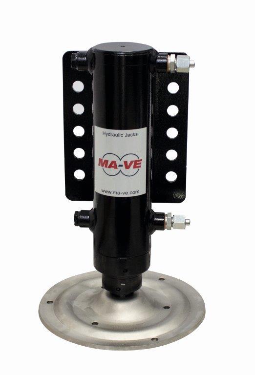 Single Hydraulic jack for motorhome